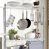 Metro Chrome Shelving Racks