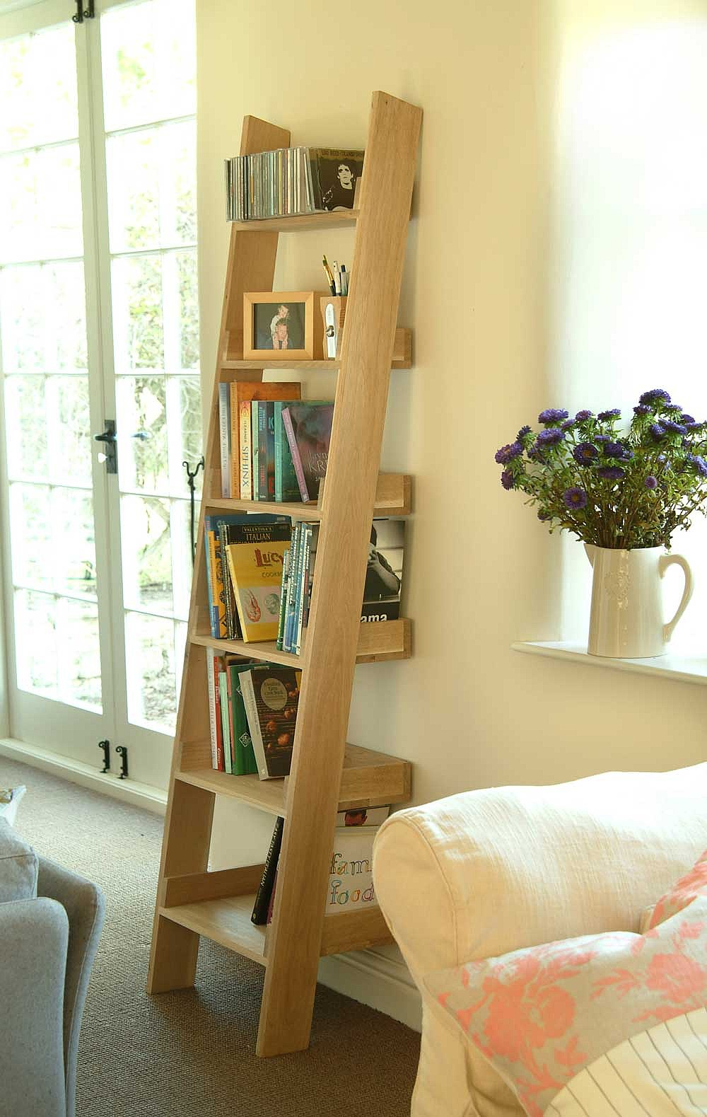 Shelving For Bedroom Oak Book Shelf The Holding Company