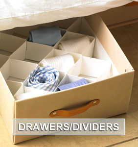 Drawers and Dividers Storage