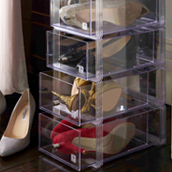 Shoe Storage Boxes | Shoe Drawers | Shoe Bins
