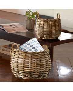 Chunky Rustic Oval Basket | @ The Holding Company