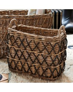 Rectangular Grey Basket | @ The Holding Company