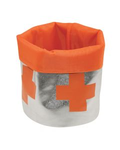 Round Soft Storage Silver Orange | Incidence