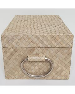 Storage Box Woven Natural Pandanus