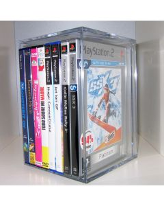 Clear Acrylic DVD & CD Storage Box