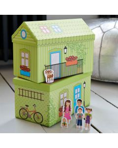 House Shaped Toy Storage Boxes
