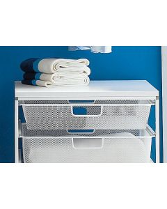 Shallow Mesh Drawer | Elfa