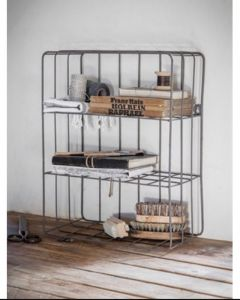 Farringdon Wirework Wall Crate | Garden Trading Company