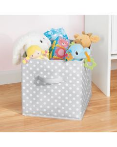 Polka Dot Storage Cube