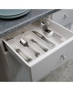 InterDesign | Expanding Clear Cutlery Organiser