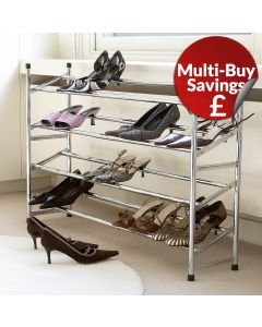 Extendable Metal Shoe Rack