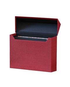 Canvas Filing Box with 12 Dividers by Bigso