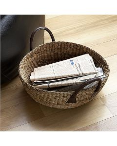 Water Hyacinth Wok Basket| @ The Holding Company
