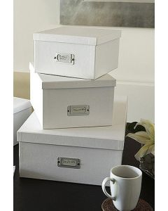 Office Storage Boxes Inge Set of 3 | Bigso