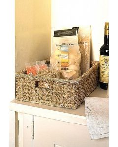 Seagrass Oblong Basket | @ The Holding Company