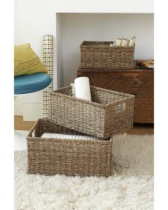 Natural Seagrass Basket | The Holding Company