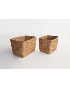 Whitby Tapered Water Hyacinth Basket