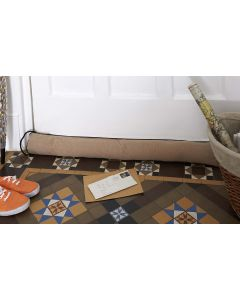 Draught Excluder Breeze Blocker Beige | Woodlore