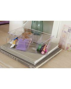 Plastic Organisers 2 Pack Rectangular| @ The Holding Company