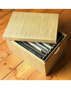 Mendong Woven File Box | The Holding Company