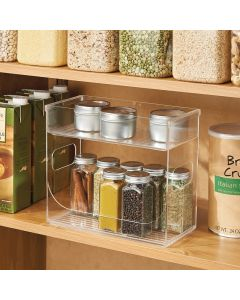 InterDesign | Clear Spice Rack