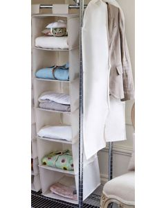 Beige Hanging Sweater Shelves | The Holding Company