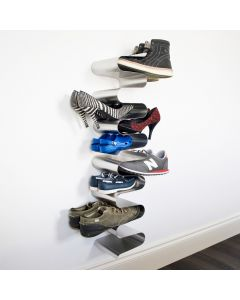 Vertical Wall Shoe Rack