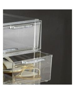 Small Stackable Shoe Box Drawer | UK Exclusive @ The Holding Company