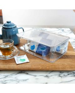 Tea Box with Compartments | InterDesign