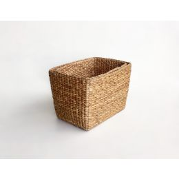 Water Hyacinth Tapered Basket With Handles| @ The Holding Company
