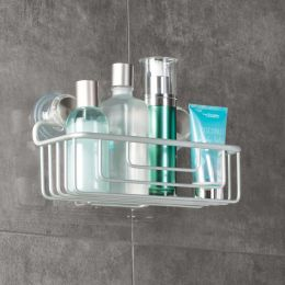 InterDesign | Aluminum Suction Basket