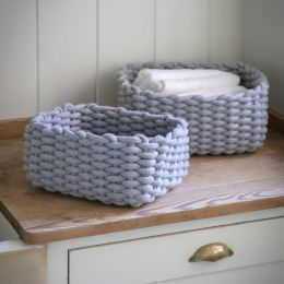 Chilcomb Rectangular Baskets Set of 2