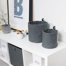 Grey Soft Storage Box