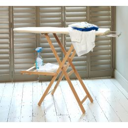 Wooden Ironing Board With Airer