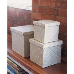 Woven Home Storage Box Natural | @ The Holding Company