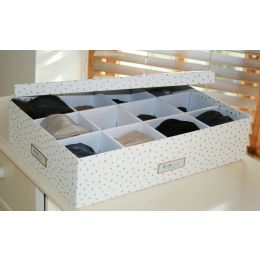 Jakob 12 Compartment Storage Box