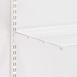 Elfa Bracket for ventilated shelf white