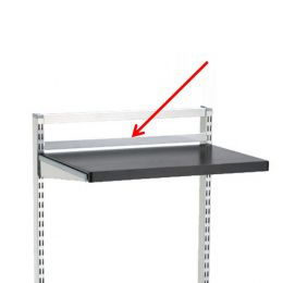 Freestanding Shelf Back Stop | Elfa