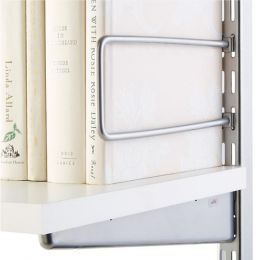 Book Ends Platinum Colour | Elfa