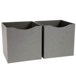 Cube Storage Box Set of 2 | Bigso