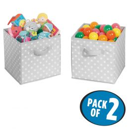 Polka Dot Storage Cube - Small 2 Pack