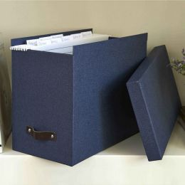 Canvas Box File with 8 Hanging Files | Bigso