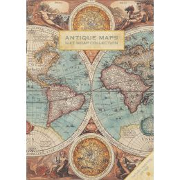Gift Wrap Collection - Antique Maps