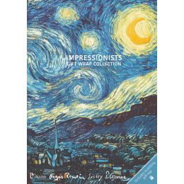 Gift Wrap Collection - Impressionists