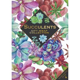 Gift Wrap Collection - Succulents