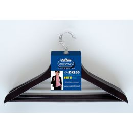 Coat Hangers with Bar - 5 Pack | Valsecchi