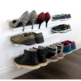 Horizontal Wall Mounted Shoe Rack