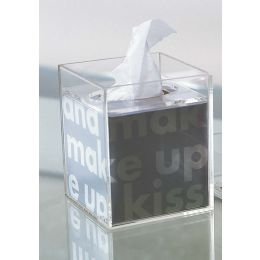 Acrylic Square Tissue Box