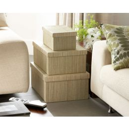 Mendong Natural Storage Box