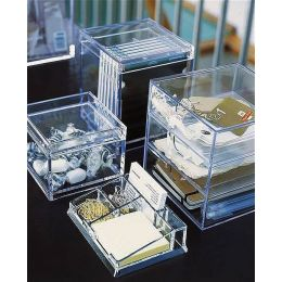Clear Acrylic Desktop Drawers | Palaset